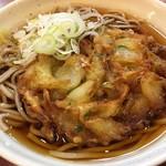 あずみ - 「野菜かき揚そば」470円也。税込。