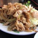 ちりれんげ -  生姜焼定食