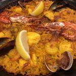 スペイン料理銀座エスペロ - 海鮮のパエリアいやパエジャ