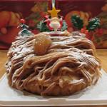 アラペイザンヌ - クリスマスモンブラン 3100円(税別)