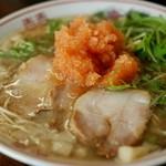 山創 - 紅葉おろしが豚骨醤油スープに合う!