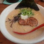 麺屋 海嵐 - 「プレミアム醤油トンコツチャーシュー1枚で720円」税別