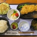 田むら 銀かつ亭 - ロースかつ定食1,350円+税