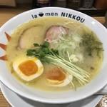 78474512 - 鶏白湯・塩(750円)+味玉(50円)