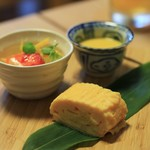 cafe 熊の手 - 料理写真:前菜3種