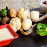 野菜のブロシェット