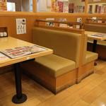 富寿し - テーブル席
