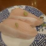 回転寿司羊蹄丸 - 鰤はめっちゃ美味しかった。