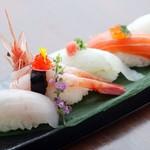 咲椀 - 特選寿司盛り合わせ