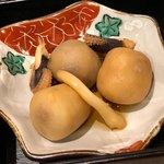 割烹きらく - 里芋とイカの田舎煮