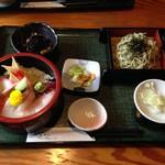 78484143 - チラシ寿司と蕎麦ランチ