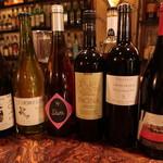バー アルケミスタ - ワイン各種
