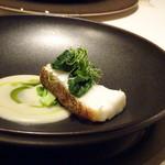 レザン ドール - ◆平戸産天然アラのキュイソンナクレ ウイキョウのソース