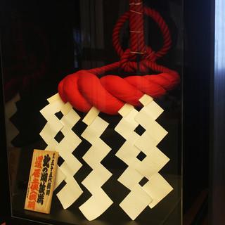 相撲協会・力士の協力で実現したプレミアム展示は必見!