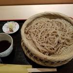 すし徳灑落 - 料理写真:もりそば850円