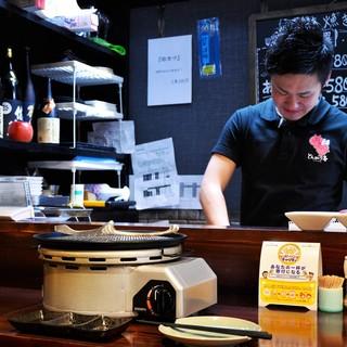 ◆カウンターで『一人焼肉』OK♪『朝5時』まで営業中!!
