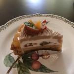 nico - マロンとリンゴのケーキ