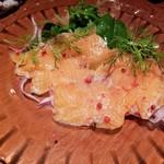 コンバイン - 鮮魚のカルパッチョ