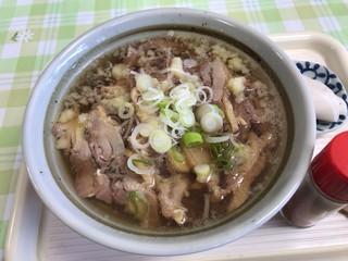 寒河江フローラ どんどん - 肉そば ¥500