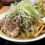 佐野サービスエリア(下り線)レストラン・スナックコーナー - とちぎのもやしガッツリ!佐野ラーメン1000円