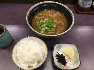 七福亭 - カレーうどん定食