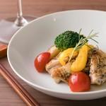DiningBar Selfish - 国産鶏もも肉のハーブ焼 \1,300