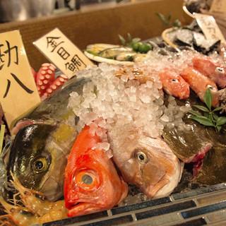 鮮魚が自慢!厳選した旬の味わいをお楽しみください