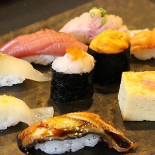 質・価格にこだわったお寿司