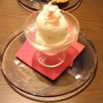 ピッツェリア ドド - リンゴとミルクのジェラート