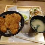 タレカツ - カツ丼セット