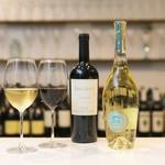 ボトルシップ - カリフォルニアワイン各種。グラス600円〜