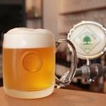 ボトルシップ - 生ビールはハートランド♪すっきりとした飲み口。
