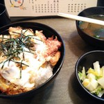 とんかつ 松永 - かつ丼