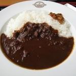 大涌谷 駅食堂 - 名物大涌谷黒カレー