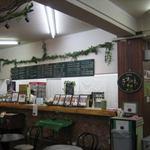 レストハウスやまなみ - カフェのカウンター