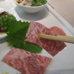 鶴屋 - ☆肉刺しもまずはそのままで☆