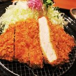 かつアンドかつ - 味噌ロースかつ膳(120g)1,220円