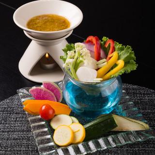 新鮮野菜畑のバーニャカウダオリジナルソース