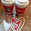 スターバックスコーヒー - ドリンク写真:スターバックスラテ。1杯無料♥スタバさん、ありがとう*_ _)