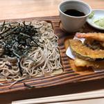 寿々喜家 - 料理写真:天ざるそば 1100円。