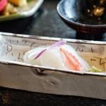 和彩膳所 楽味 - ☆烏賊のお造り
