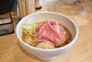 そらみち - ■特製煮干しそば 1000円