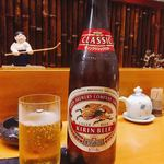 雪国食堂 - 瓶ビール