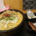 まる宮商店 - 石焼き坦々麺+メンマ