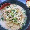 Choushuuryuu - 料理写真:野菜白胡麻担々麺(大盛)+ミニチャーハン