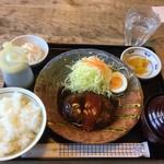 モンブラン - 料理写真:本日のランチ   ハンバーグ定食