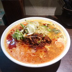 拉麺天弓 - 担々麺辛さ普通