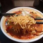 拉麺天弓 - 麺