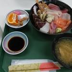 海の幸レストラン バイキング - 料理写真:海鮮ちらし丼:800円