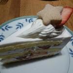 Cafe Weg - 苺のショートケーキ